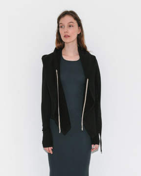 Rick Owens Cropped Hooded Wrap