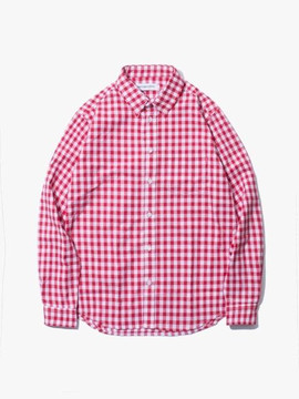 Have A Good Time Gingham Shirt - Red