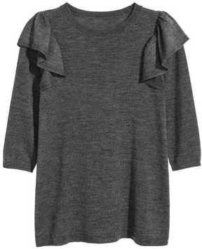 H&M Short Merino Wool Dress