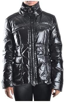 Geospirit Women's Black Polyamide Down Jacket.