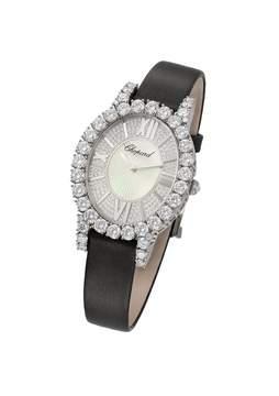 Chopard Heure du Diamant Diamond Set Guilloche Dial Ladies Watch