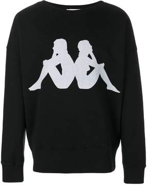 Faith Connexion x Kappa logo sweatshirt
