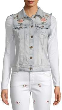 Driftwood Women's Vega Embroidered Denim Vest