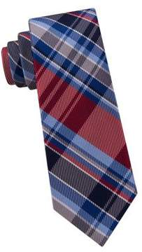 Lord & Taylor Boy's Tower Plaid Silk Tie