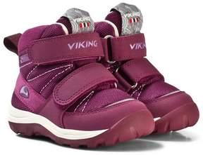 Viking Plum/ Coral RISSA GTX Boots