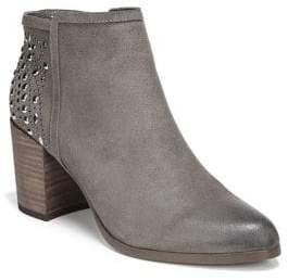 Fergie Beaded Leather Booties