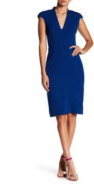 Betsey Johnson Crepe Sheath Dress