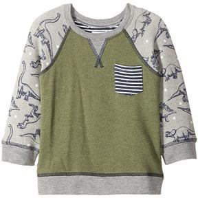 Mud Pie Dinosaur Sweatshirt Boy's Sweatshirt