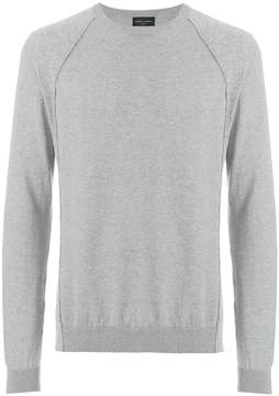 Roberto Collina ribbed detail sweater