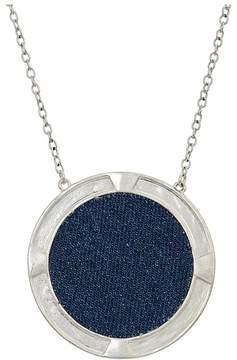 The Sak Large Inlay Pendant 28 Necklace Necklace
