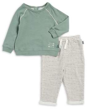 Splendid Baby's Two-Piece Pullover Sweater & Striped Pants Set