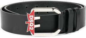 DSQUARED2 DSQ2 maple leaf belt