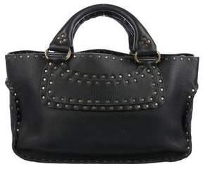 Celine Embellished Boogie Handle Bag