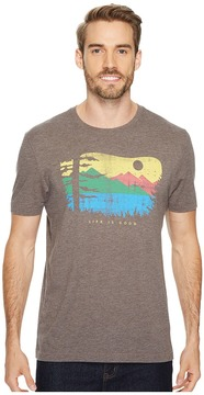 Life is Good Mountain View Woods Cool Tee Men's Short Sleeve Pullover