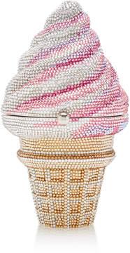 Judith Leiber Couture Ice Cream Cone Clutch