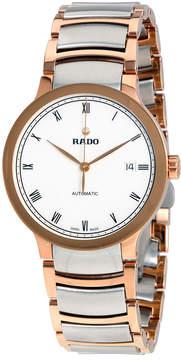 Rado Centrix Automatic White Dial Two-tone Men's Watch