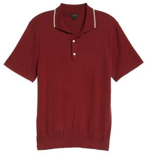 J.Crew Tipped Sweater Polo