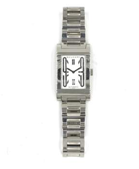 Bulgari Rettangolo RT 45S Stainless Steel 27mm x 36mm Watch
