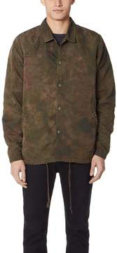 Remi Relief Nylon Uneven Dyed Coach Jacket