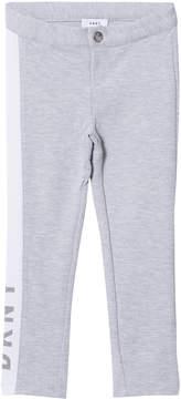 DKNY Grey Jersey Branded Slim Sweat Pants