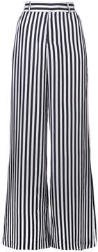 RtA Black/White Jupiter Wide Leg Pants