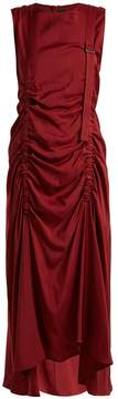 Joseph Hall ruched-detail sleeveless dress