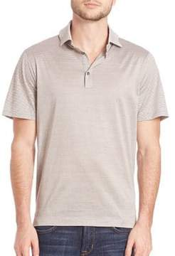 Saks Fifth Avenue COLLECTION Contrast Stripe Polo