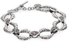 Lois Hill Signature Cutout Link Bracelet