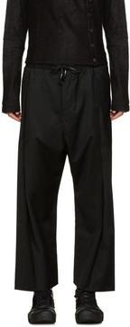 D.gnak By Kang.d Black Drawstring Trousers