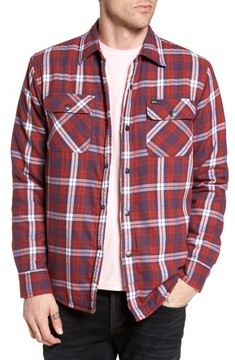 Obey Men's Seattle Shirt Jacket
