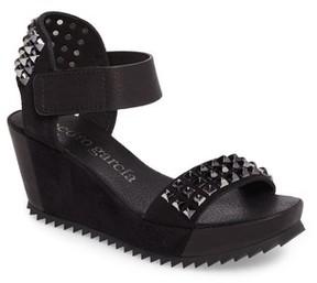 Pedro Garcia Women's Fortuna Studded Wedge Sandal