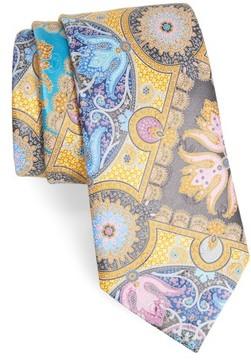 Ermenegildo Zegna Men's Quindici Paisley Silk Tie