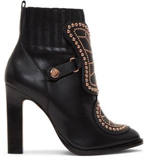 Sophia Webster Black Karina Boots