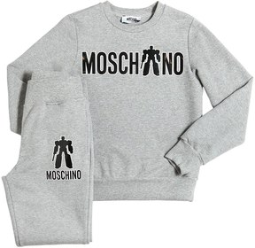 Moschino Cotton Sweatshirt & Sweatpants