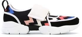 MSGM Women's Multicolor Fabric Sneakers.