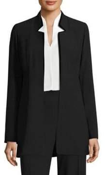 Elie Tahari Maclaine Velvet Jacket
