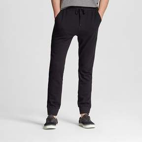 Mossimo Men's Knit Jogger Pants Black