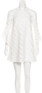 Camilla And Marc Off-The-Shoulder Swing Dress w/ Tags