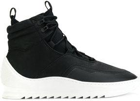 Filling Pieces platform hi-top sneakers