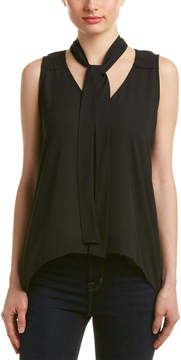 Eight Sixty Tie-Neck Top