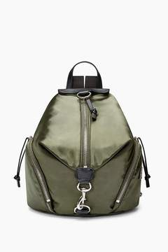 Rebecca Minkoff Julian Satin Nylon Backpack - GREEN - STYLE