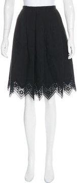 Andrew Gn 2016 Linen Skirt