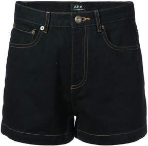 A.P.C. mini denim shorts