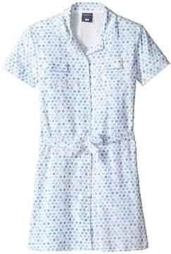 Toobydoo Short Sleeve Polo Dress (Toddler/Little Kids/Big Kids)