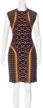 Alaia Jacquard Bodycon Dress