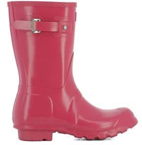 Hunter Fuchsia Rubber Boots