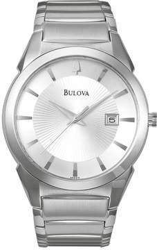Bulova Stainless Steel Watch - 96B015 - Men