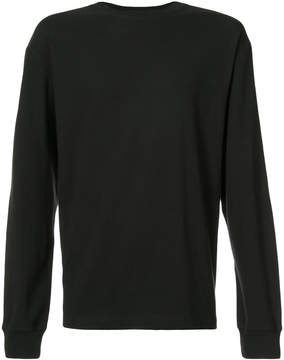 Alexander Wang long-sleeved crew neck top