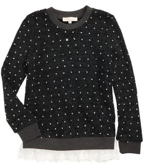 Truly Me Girl's Nubby Sweater