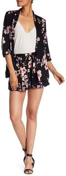 Angie Tie Waist Floral Shorts
